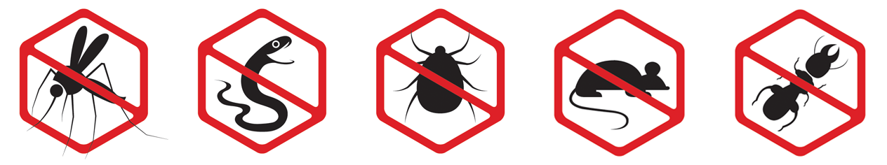 No pests icons
